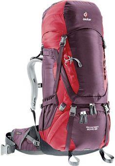 b52754b374 Deuter Aircontact SL 60 + 10L Backpack - Women's Camping And Hiking, Hiking  Gear,