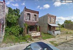 "Merrion avenue, Philadelphia, Pennsylvania / 39°58'28.27""N 75°13'9.16""W (Google Earth Street View)"