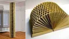The Art Of Up-Cycling: Old Book Craft Ideas-Repurpose Those Old Books With These Fab Craft Ideas