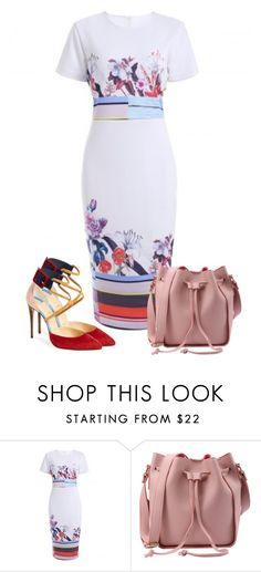 """Sin título #161"" by lavandar ❤ liked on Polyvore featuring Christian Louboutin"