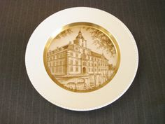 German Souvenir Plate, Das Oldenburger Schloss by MaGriffeBoutique on Etsy