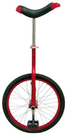 Unicycles - Fun Red 20 Unicycle with Alloy Rim * You can get more details by clicking on the image.