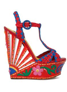 05f72b85b My favorite Dolce and Gabbana platforms of Summer 2013 Zapatillas