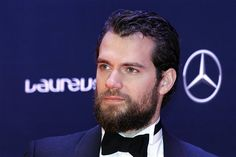 Henry Cavill arrives to present an award at the Laureus World Sports Awards on Wednesday, April. 15, 2015 in Shanghai, China.