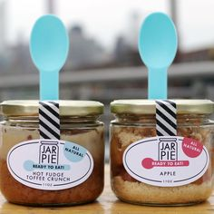 Binge-worthy bites baked in single-serving jars, ready to eat