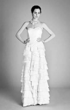 Temperley 'Dragon Dress' Ophelia 2012 Collection