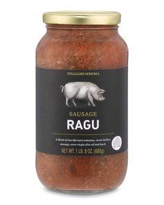 Sicilian Sausage Ragu Pasta Sauce