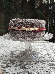 What's better than a chocolatey, coconutty, cream filled, jam embellished lamington? All of the above in a big Chocolate Jam-n-Cream Lamington Sponge Cake! Lamington Cake Recipe, Lamingtons Recipe, Big Chocolate, Chocolate Cupcakes, Sponge Cake Recipes, Salty Cake, No Bake Desserts, Baking Desserts, Cream Cake