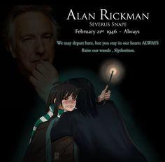 Art Tributes to Alan Rickman | Parka Blogs