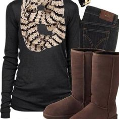 #FALL! Time for sweaters and boots
