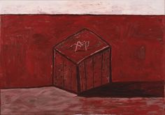 """Philip Guston. Box and Shadow. 1978. Oil on canvas. 69 1/8 x 8' 2 5/8"""""""