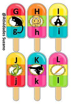 Jogo do alfabeto gelado   Atividades Pedagogica Suzano