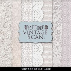 Far Far Hill: Freebies Winter Lace