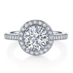 Diamonvita® 2 ct. tw. Ring in Sterling Silver