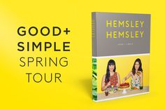 We're packing our bags (and thermos flasks!) and travelling across the country to spread the Good + Simple message! Melissa Hemsley, Hemsley And Hemsley, First Dates, Free Food, New Books, Tours, Healthy Recipes, Good Things, Messages