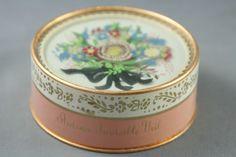 Vtg Elizabeth Arden Ardena Invisible Powder Decorative Box Reverse Painted Lid | eBay