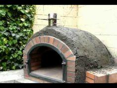 1000 images about como construir una barbacoa on pinterest barbacoa youtube and primer - Como hacer horno de lena ...