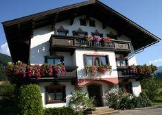 Pretty Austrian house in the village of Kirchberg.