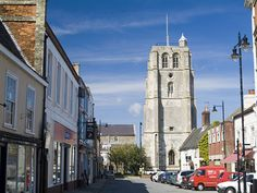 Town Centre & Church, Beccles, Suffolk.