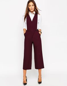 This tailored jumpsuit absolutely has to be mine.