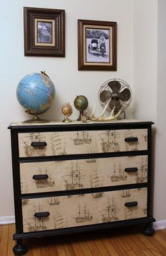 Vintage+Nautical++Dresser+by+LaVantteHome+on+Etsy,+$570.00