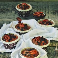Recipes for muffins & cupcakes, sweet and savoury Caramel Pecan, Chocolate Fondue, Summer Recipes, Waffles, Muffins, Low Carb, Pudding, Keto, Cupcakes