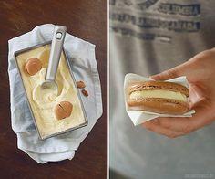 Macaron Ice Cream Sandwich   +++keksunterwegs.de+++