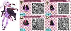 ACNL- Yuzuki Yukari Dress QR Code by ACNL-QR-CODEZ.deviantart.com on @DeviantArt