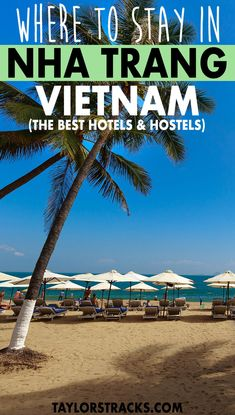 Click to find the perfect hostel, hotel or beach resort in Vietnam for a little bit of relaxation in the city along the white sand beach. #vietnam ***** Where to stay in Nha Trang | Nha Trang accommodation | Nha Trang hotel | Nha Trang hostel | Nha Trang resort | Nha Trang beach resorts | Vietnam destinations | Vietnam travel | Southeast Asia destinations | Southeast Asia travel