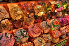 Kapalı Çarşı (Enclosed Grand Bazaar) in Istanbul, Turkiye #turkey #shopping