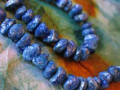 Faux Turquoise from Junk Mail | I Love Paper Beads
