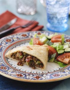 These family-sized beef-and-vegetable empanadas make for an easy weeknight dinner that everyone will like
