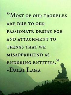 Path of non-attachment and genuine love.....