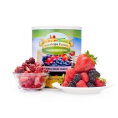 Saratoga Farms Freeze Dried Triple Berry Blend