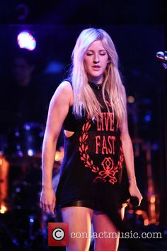 Ellie Goulding Monday April Ellie Goulding performing live in Tavastia Club Pictures) Ellie Goulding, Stage Outfits, Her Music, Celebs, Celebrities, Girl Crushes, Actors & Actresses, Singer, Female
