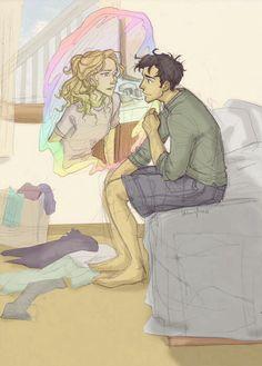 Percy and Annabeth by Burdge-Bug <3