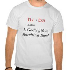 Tuba Tee Shirts