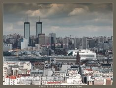 Porte de Bagnolet Paris Skyline, New York Skyline, San Francisco Skyline, Travel, Puertas, Viajes, Trips, Tourism, Traveling
