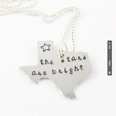 Neato - Texas Necklace | CHECK OUT MORE IDEAS AT WEDDINGPINS.NET | #weddings #rustic #rusticwedding #rusticweddings #weddingplanning #coolideas #events #forweddings #vintage #romance #beauty #planners #weddingdecor #vintagewedding #eventplanners #weddingornaments #weddingcake #brides #grooms #weddinginvitations