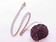 Raw amethyst necklace  https://www.etsy.com/shop/DellaMine?ref=search_shop_redirect