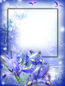 Baby Photo Frames, Flower Picture Frames, Flower Frame Png, Picture Frame Decor, Happy Birthday Frame, Birthday Frames, Frame Background, Wedding Background, Cool Powerpoint Backgrounds