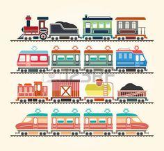 train platform: Simple Web Icons: Train Illustration