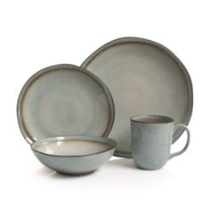 Stoneware Dinnerware Sets, Tableware, Dinner Plates, Glaze, Dishwasher, Artisan, Shapes, Dining, Mugs