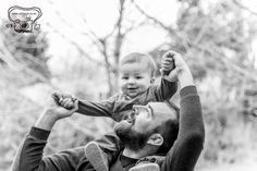 daddy and son black and white