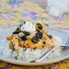 Cheesy Chicken Dorito Casserole
