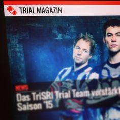 One step closer. Das Websiterelease kommt immer näher! #trialmagazin