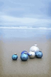 Good idea if we ever plan on a beach pic on our Christmas card!