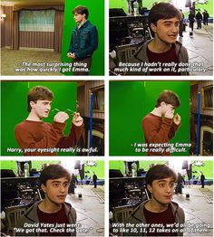 The Seven Potters: BTS - Harry Potter and the Deathly Hallows Part 1