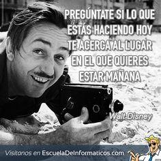 Walt Disney #motivación #tecnología