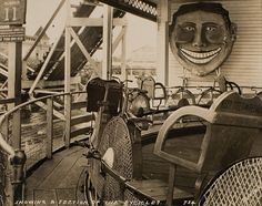 Steeplechase Bicycle Ride, c. 1925 Coney Island